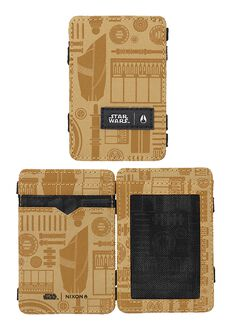 Atlas Magic Wallet SW, C-3PO Gold