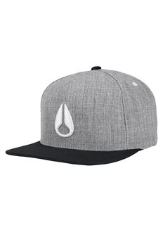 Gorra Snap Back Simon, Heather Gray / Black / White