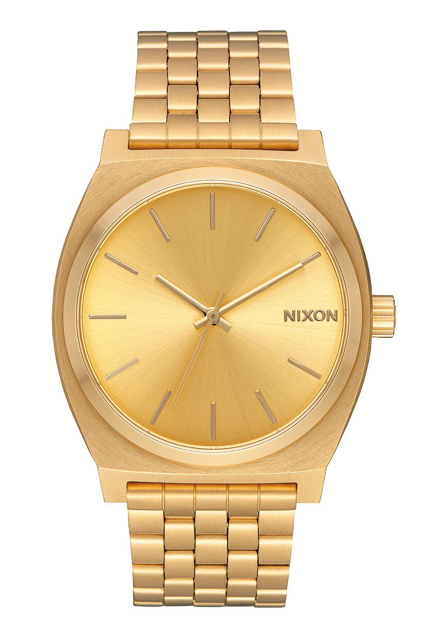 time teller montres acier cuir unisex montres et accessoires premium nixon. Black Bedroom Furniture Sets. Home Design Ideas