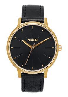 Kensington Leather, Gold / Black