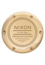 Bullet Leather, Gold / Black