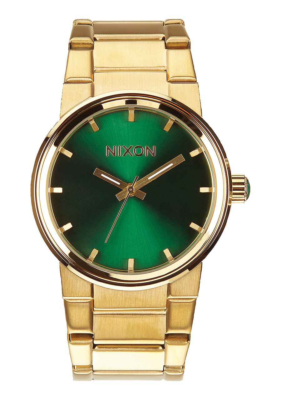 cannon men s watches nixon watches and premium accessories cannon gold green sunray