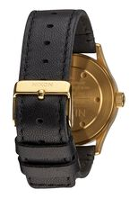 Sentry 38 Leather, Gold / Black