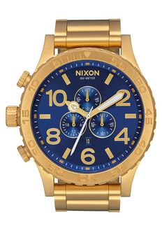 51-30 Chrono, All Gold / Blue Sunray