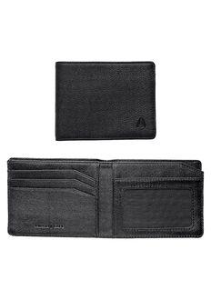 Cape Bi-Fold Wallet, All Black