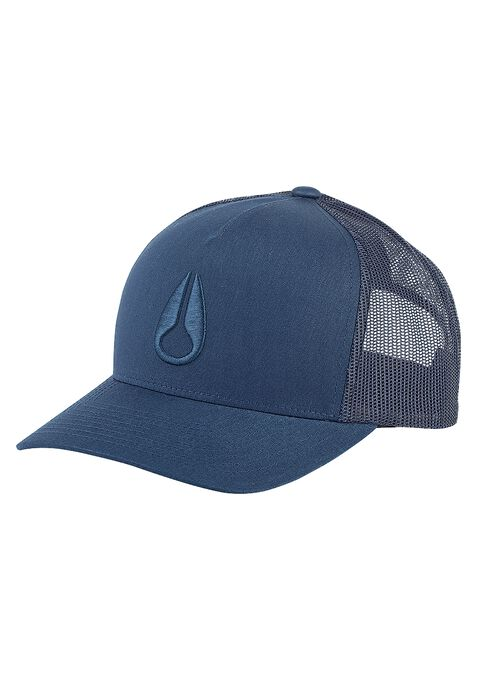 Iconed Trucker Cap, All Navy