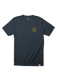 Pool Service S/S Tee, Navy Heather