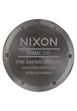 Safari Deluxe, All Gunmetal / Gray