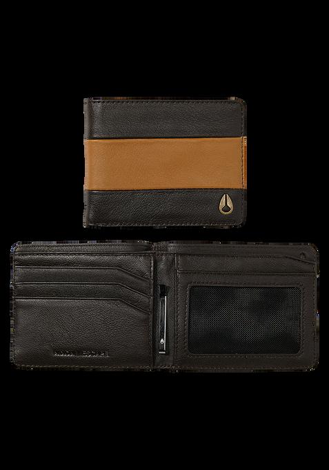 Escape Bi-Fold Clip Wallet, Brown / Saddle
