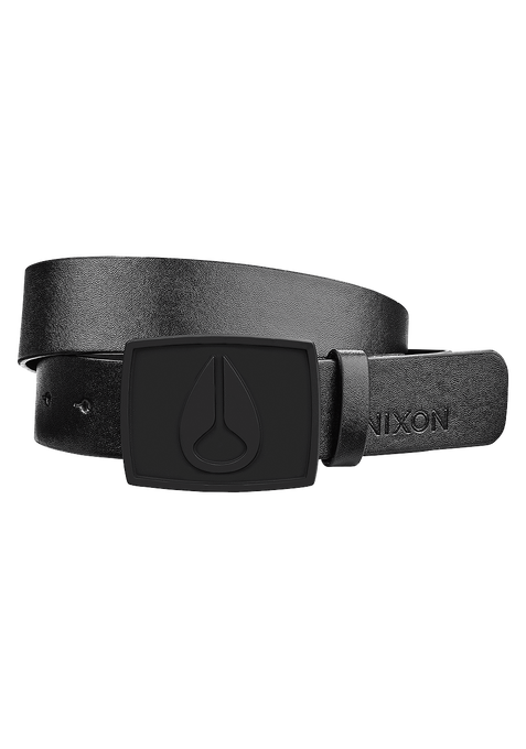 Enamel Icon II Belt, All Black