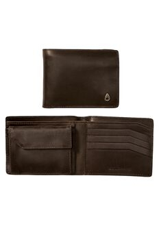 Arc SE Bi-Fold Wallet, Black / Brown