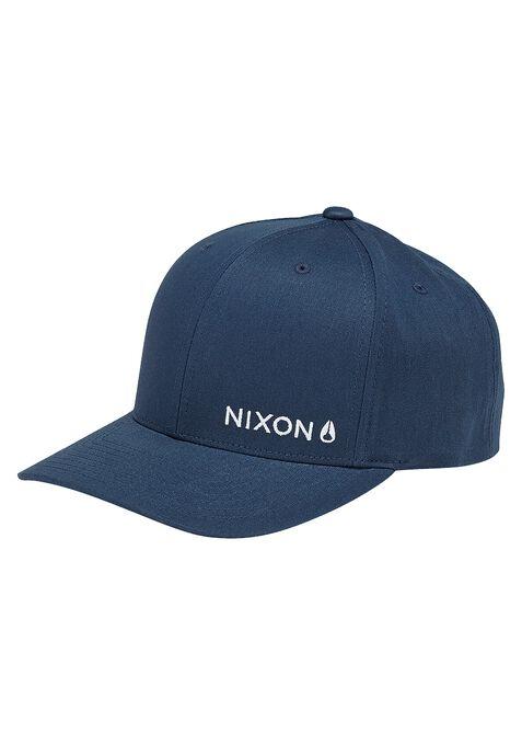 Lockup Snapback Hat, Navy