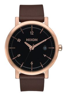 Rollo 38, Rose Gold / Black