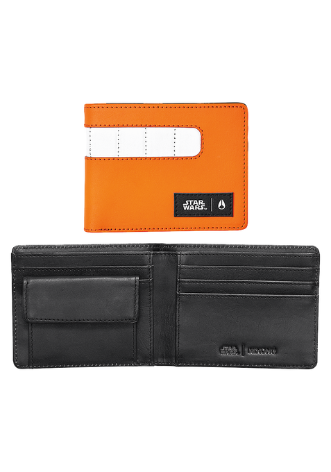 Showout Leather Wallet SW, Rebel Pilot Orange