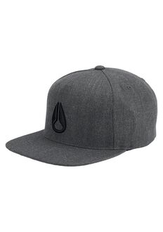 Casquette Snap Back Simon, Dark Gray Heather