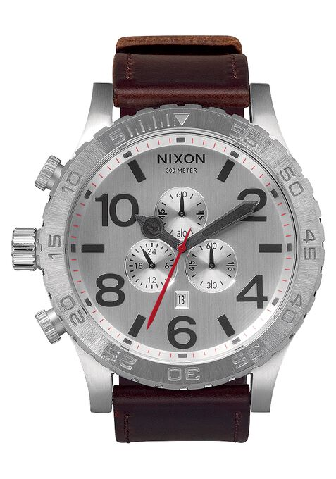 51-30 Chrono Leather, Silver / Brown