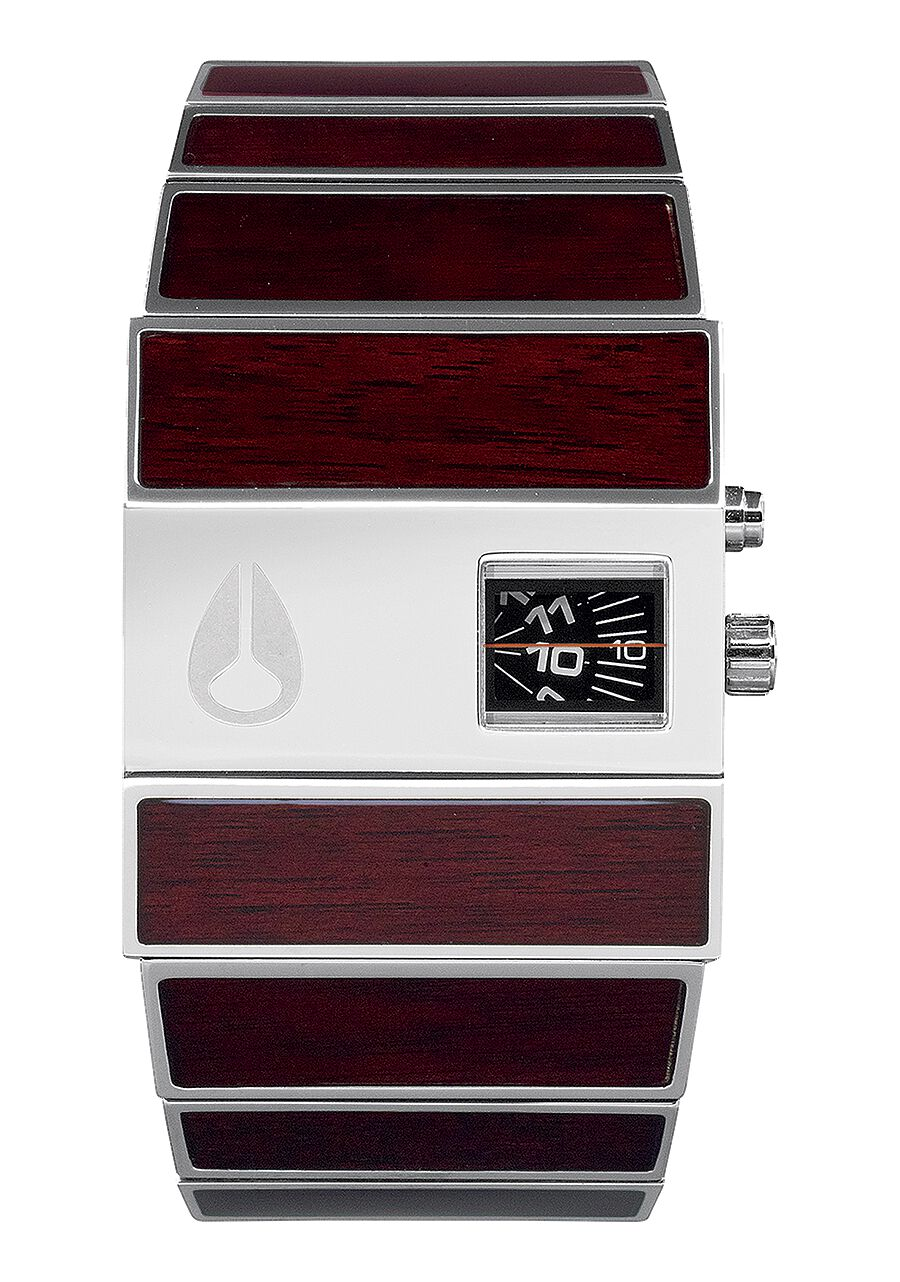 inlay wood justwood sandalwood premium watches watch hybrid steel wooden s red ssteel vulcan