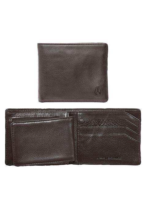 Satellite Big Bill Bi-Fold ID Coin Wallet, Brown