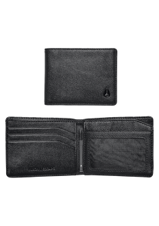 Escape Bi-Fold Clip Wallet, All Black