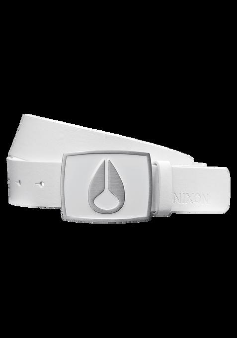Cinturón con Esmalte Icon II, White