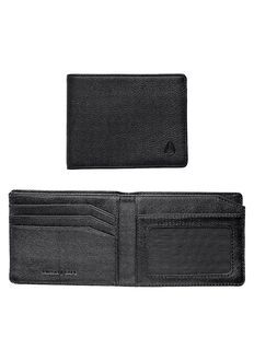 Cape Bi-Fold Wallet, All Black