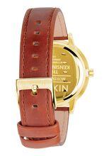 Kensington Leather, Gold / Saddle