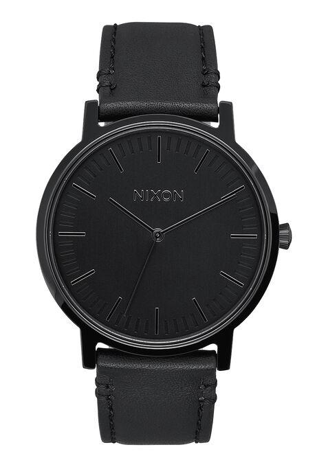 Porter Leather, All Black