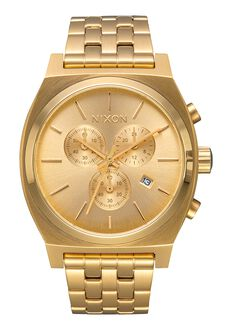 Time Teller Chrono, All Gold