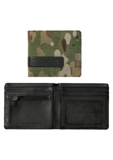 Showdown Bi-Fold Zip Wallet, Multicam