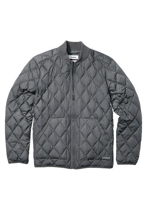 Work Puffy Jacket, Charcoal