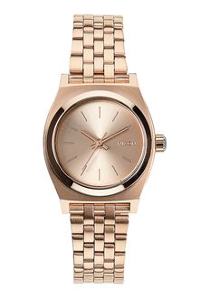 Small Time Teller, All Rose Gold