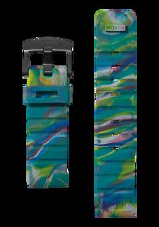 Mission Armband, Marbled Multi / Black