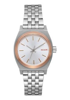 Small Time Teller, Silver / Gold / Rose Gold
