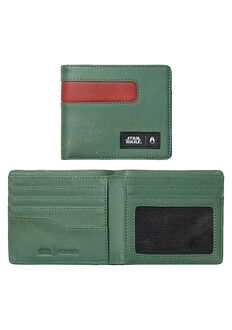 Showoff Leather Wallet SW, Boba Fett Green