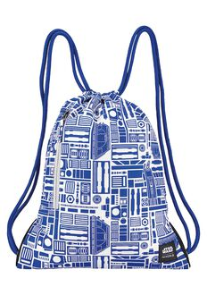 Everyday Cinch Bag SW, R2D2 White