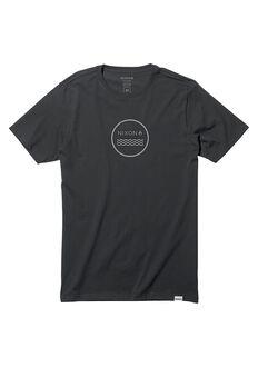 Tee-Shirt Waves III, Black
