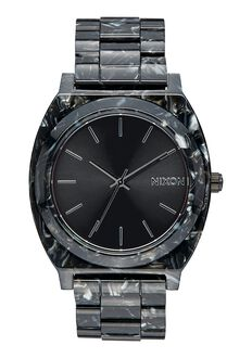 Time Teller Acetate, Black / Silver / Multi