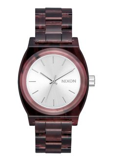 The Medium Time Teller Acetate, Red