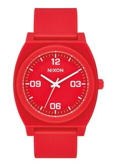 Time Teller P Corp, Matte Red / White