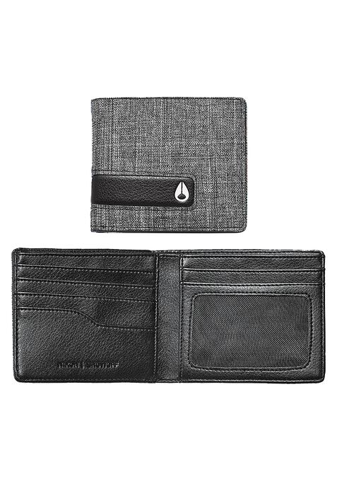 Showoff Bi-Fold Wallet, Black Wash