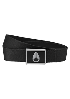 Enamel Wings Belt, Black