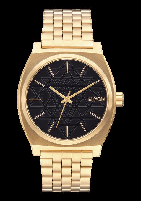Time Teller, Gold / Black / Stamped