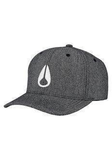 Deep Down Athletic Textured Hat, Gunmetal / White