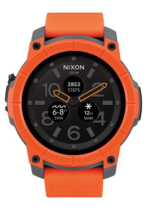Mission, Orange / Gray / Black