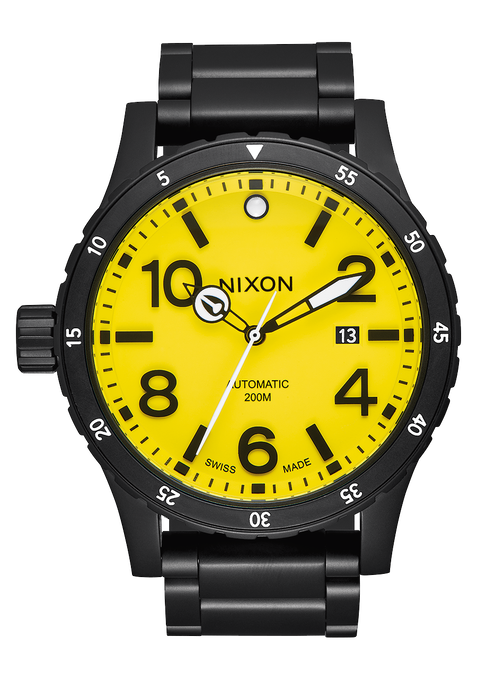Diplomatic, Black / Yellow