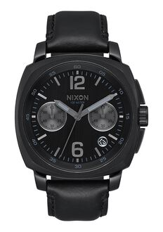Charger Chrono Leather, All Black