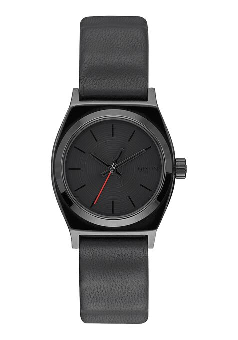 Small Time Teller Leather SW, Vader Black