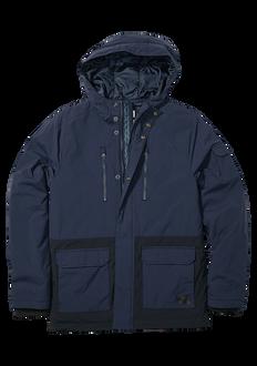 Hudson Parka Jacket, Navy