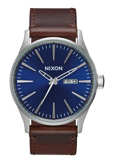 Sentry Leather, Blue / Brown