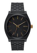 Time Teller, Matte Black / Gold